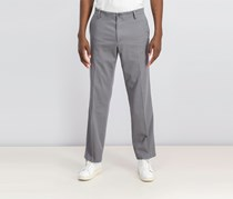 Dockers Men's Straight Fit Trousers, Burnt Grey