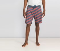 Volcom Stripey Stoney  Board short, Rust/Navy