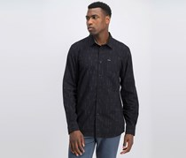 Volcom Men's Quency Dots Shirt, Black