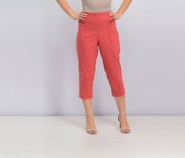 Style & Co Women's Pull-On Cropped Pants, Pimpernel