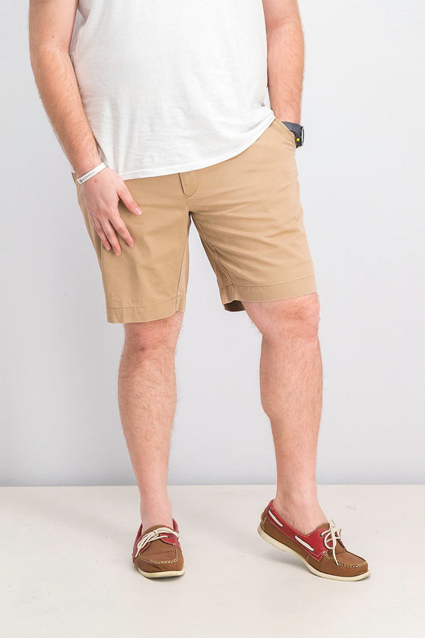 Polo Ralph Lauren  Men's Classic Fit Front Chino Shorts, Montna Khaki