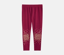 Epic Threads Kid's Girl's Leggings,  Crimson Autumn