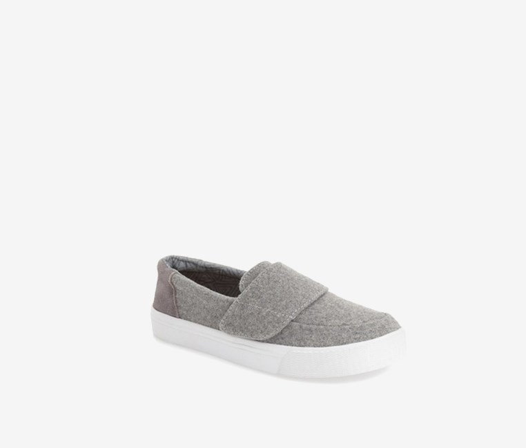 Altair Felt Suede Slip-On Shoe, Gray