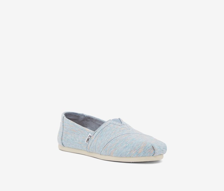 Women's Jersey Slip-On Sneaker, Blue