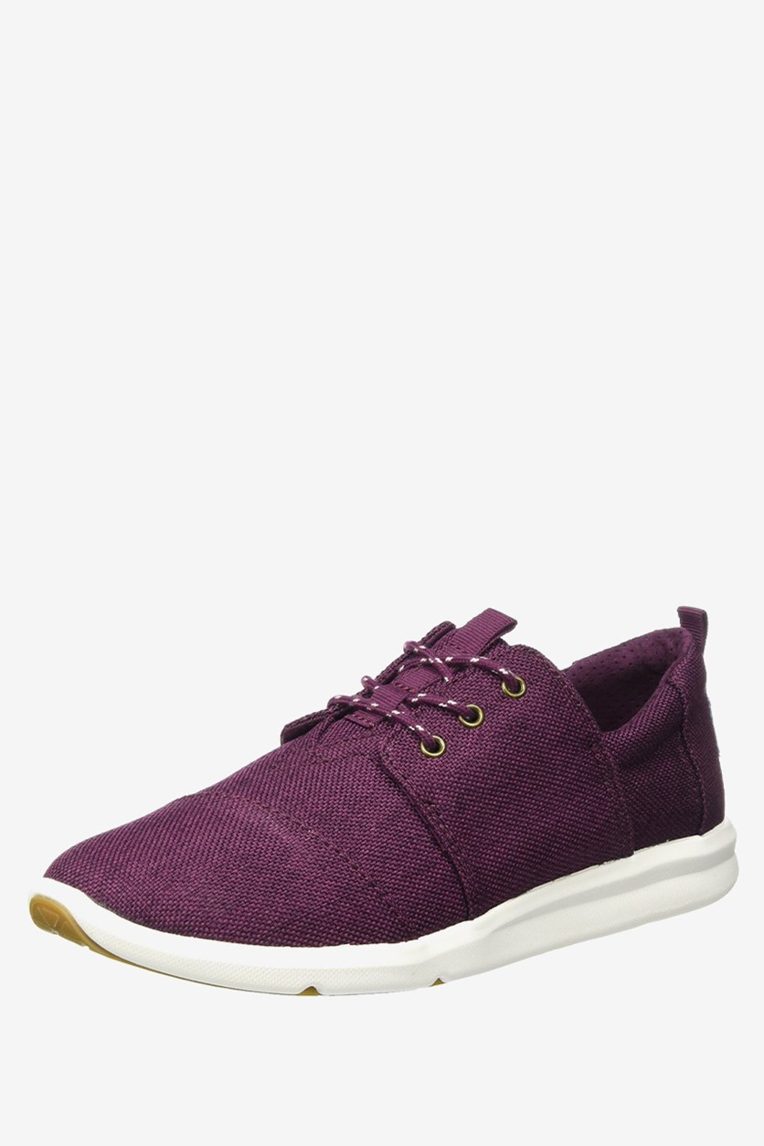 Women's Del Rey Fashion Sneaker, Dark Cherry