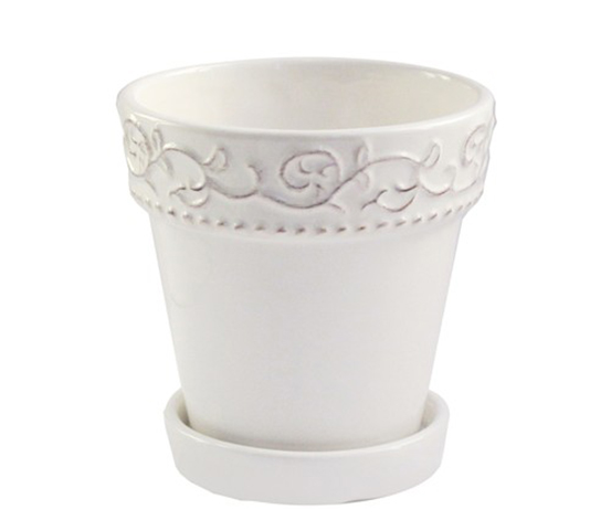 Bianca Planter, White