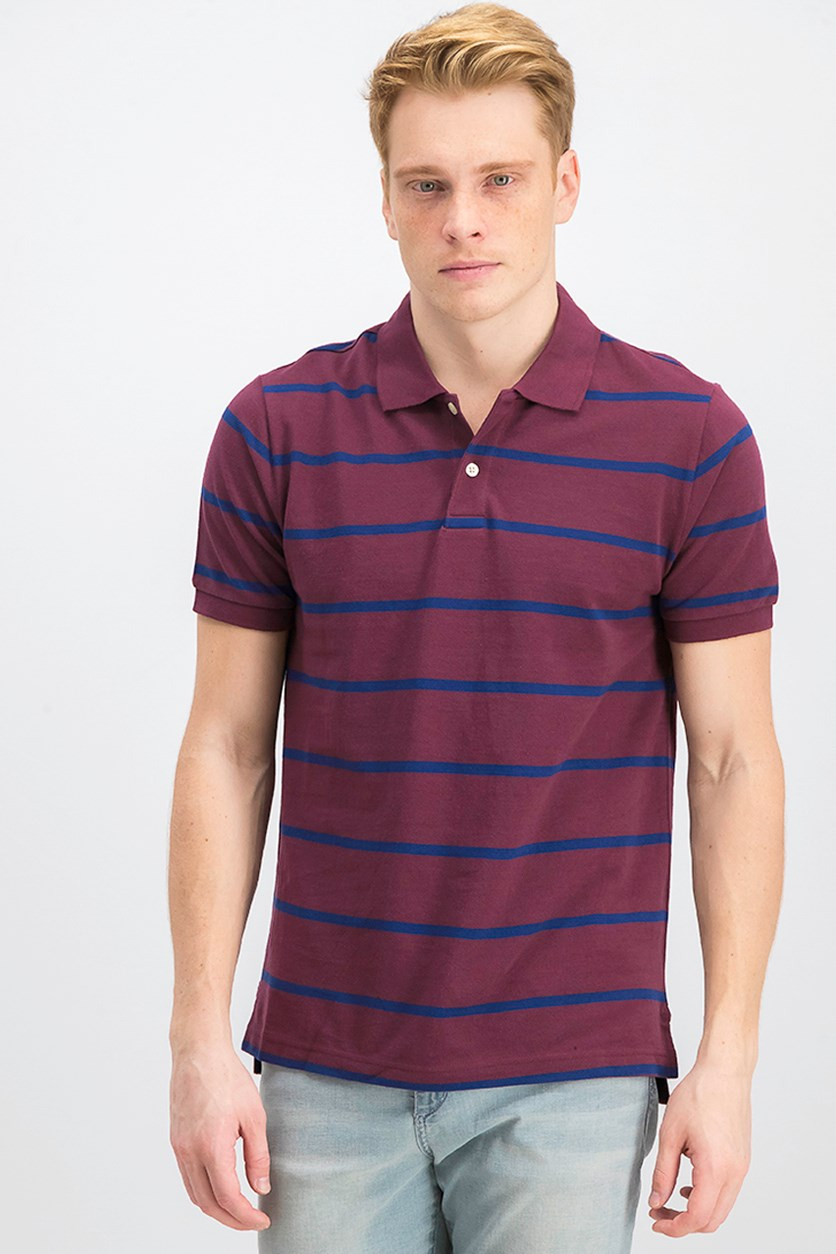 Gap Men's Polo Shirt, Maroon