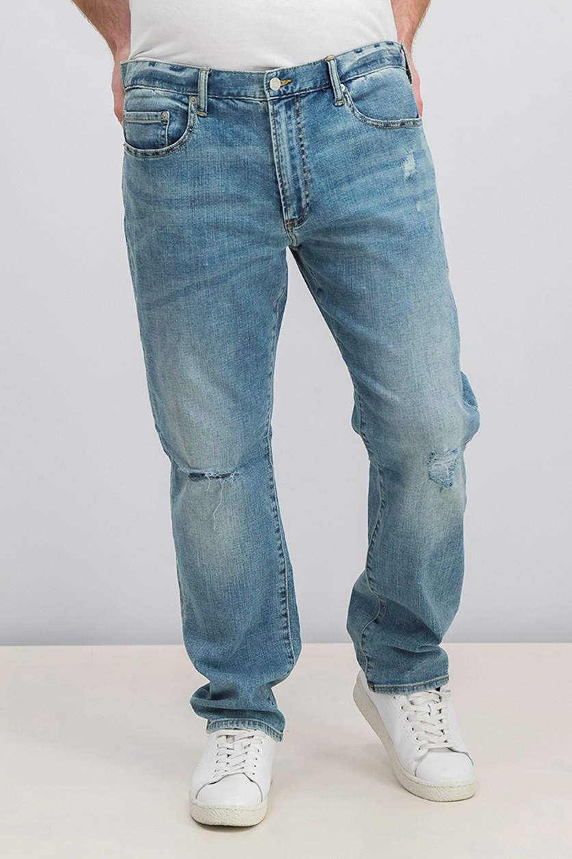 Men's Ripped Jeans, Blue