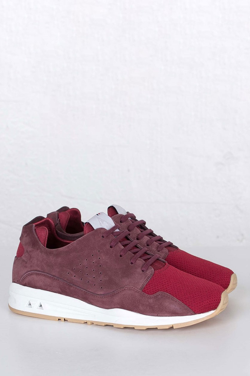 Men LCS R MIF Nubuck Shoes, Maroon/White