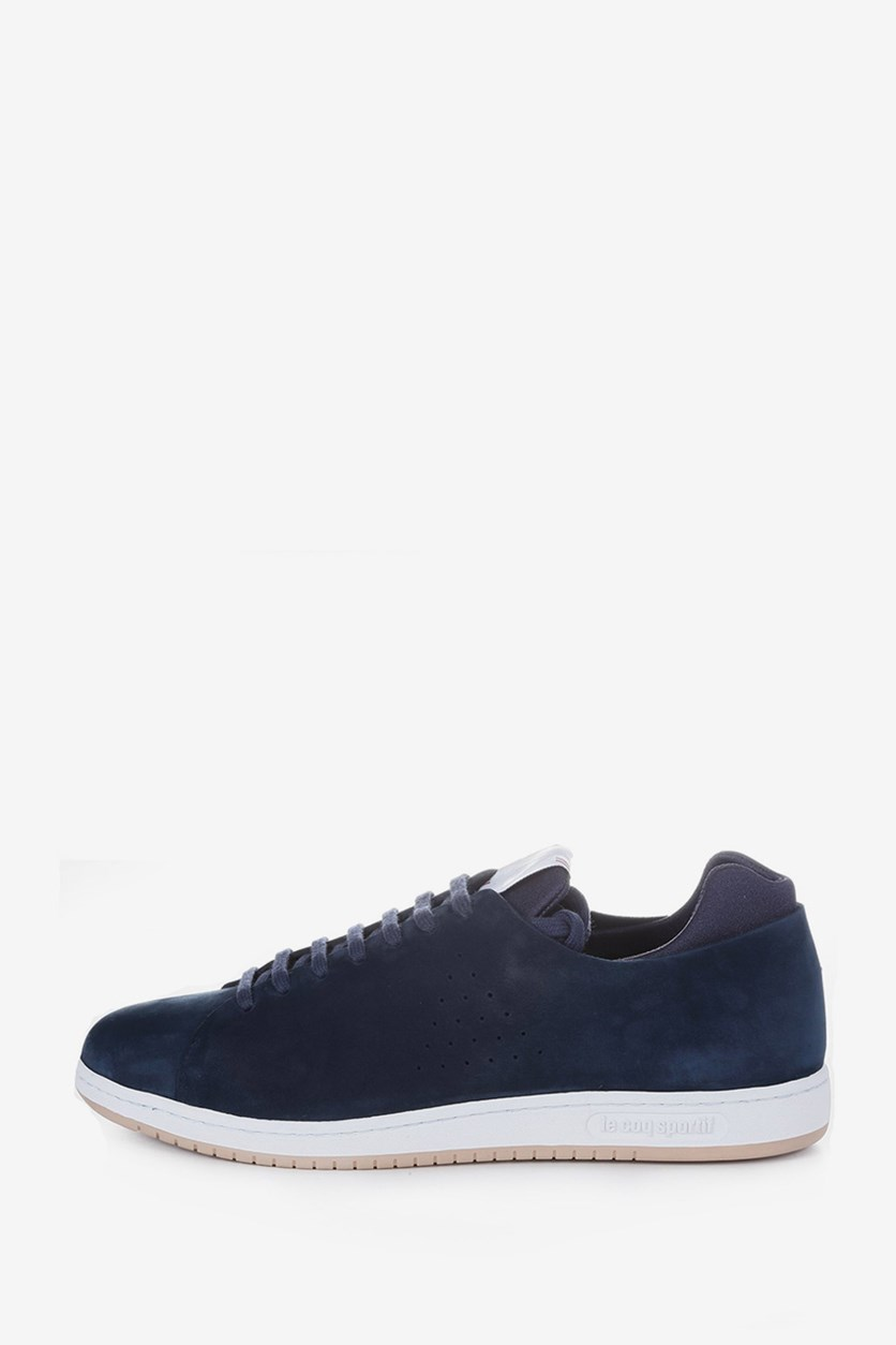 Men Court MIF Nubuck Shoes, Navy/White