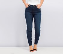 Style & Co Curvy-Fit Skinny Jeans, Wave