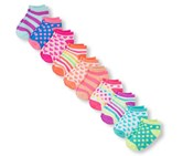 The Children's Place Girl's 10 Pack Socks, Purple/Pink Combo