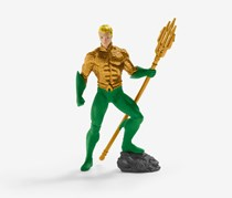 Schleich North America Aquaman Toy Figure, Green/Gold