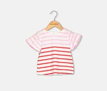 Crazy 8 Toddlers Stripe Print Top, Red/Pink