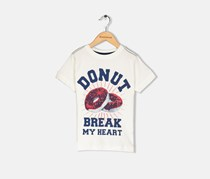 Crazy 8 Toddler Boys Donut Print Tee, Off White