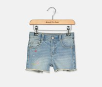 Crazy 8 Toddler Girl's Denim Shorts, Blue