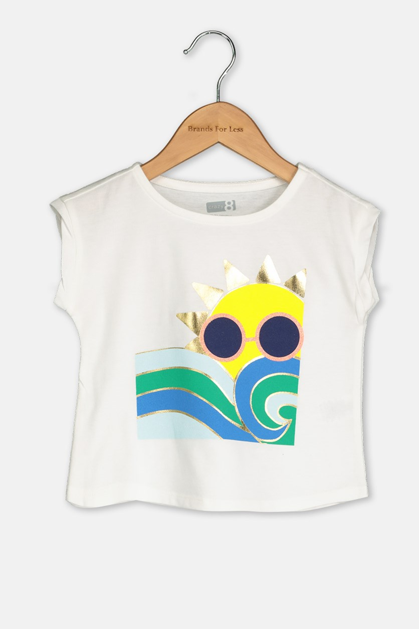 Toddlers Textured Tops, Off White