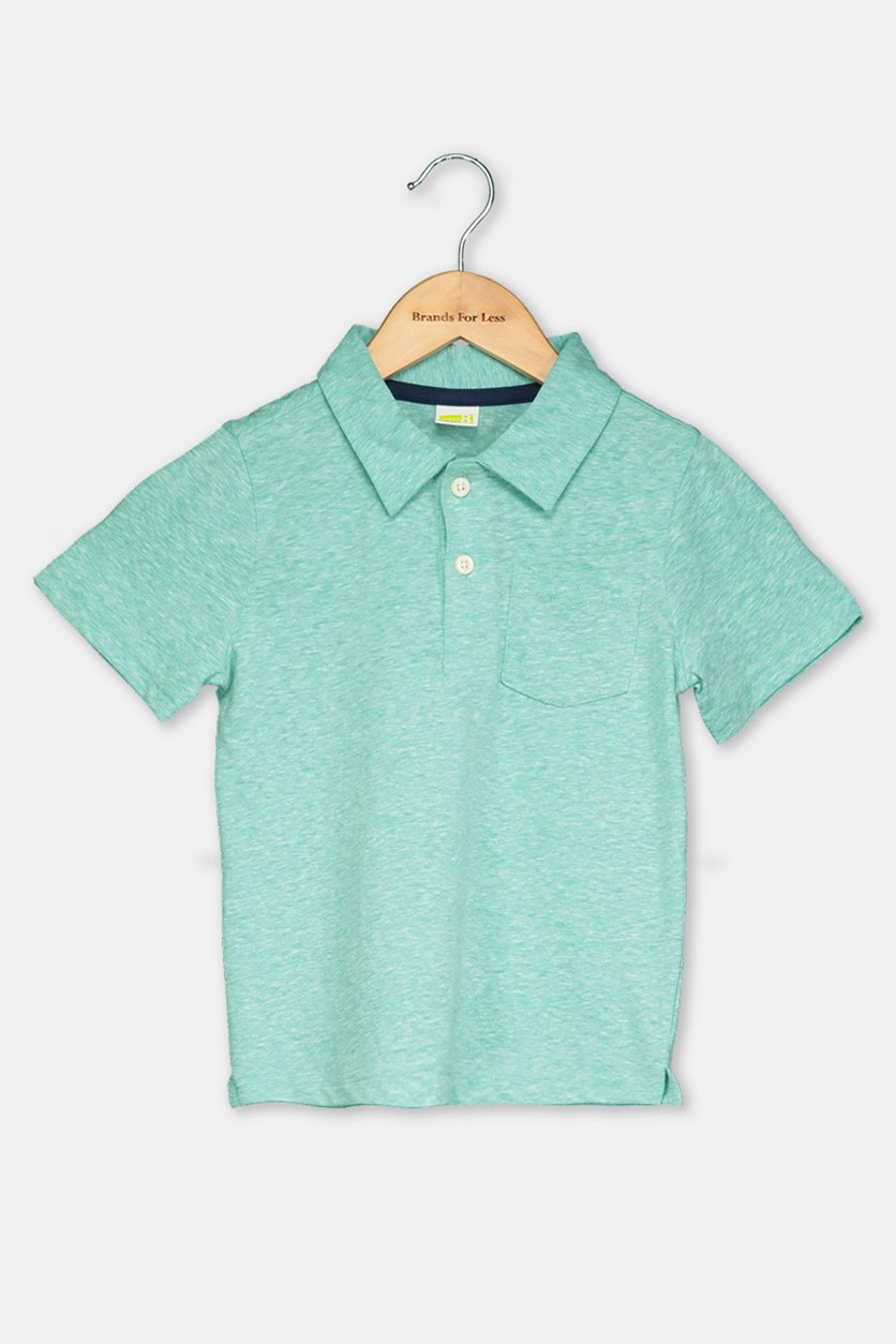 Toddler Boy's Polo Shirt, Green