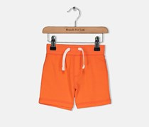 Crazy 8 Toddlers Boys and Girls Solid Cotton Shorts, Coral