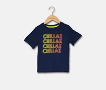 Crazy 8 Toddler Boy's Graphic Tee, Navy Blue