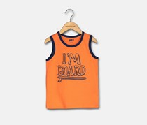 Crazy 8 Toddler Boy's Graphic Tee, Orange