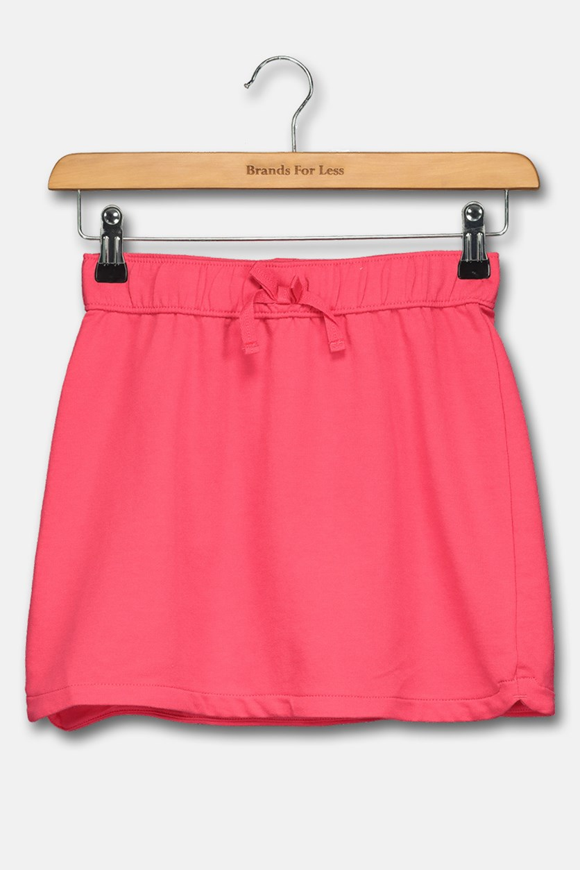 Big Girls Pull on Skirt, Fuschia