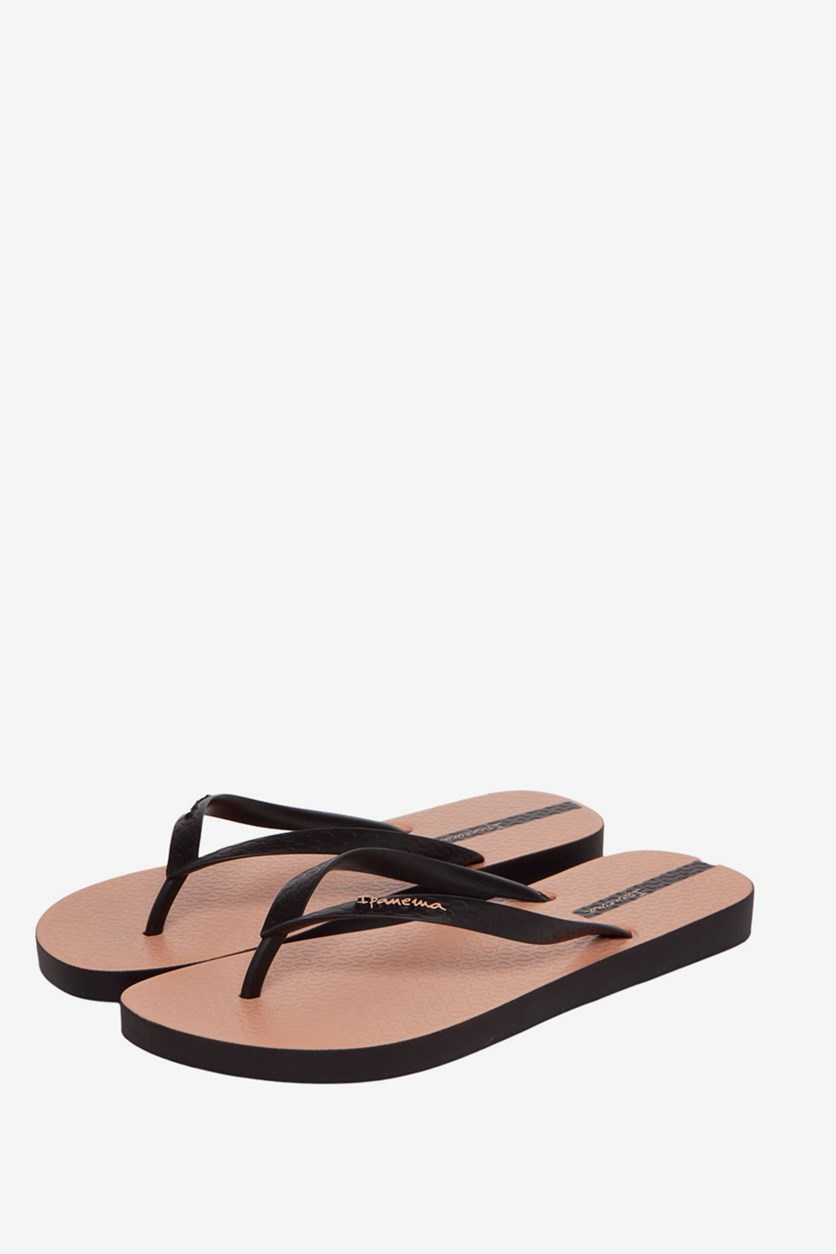 Sundae Sandal, Peach/Black