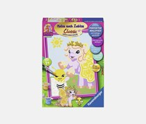 Ravensburger Malen Nach Zahlen Filly Bea, Purple/Yellow