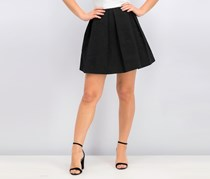 Cacharel Women's Pleated Flared Skirt, Black