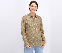 Cacharel Women's Printed Blouse, Hibiscus Combo