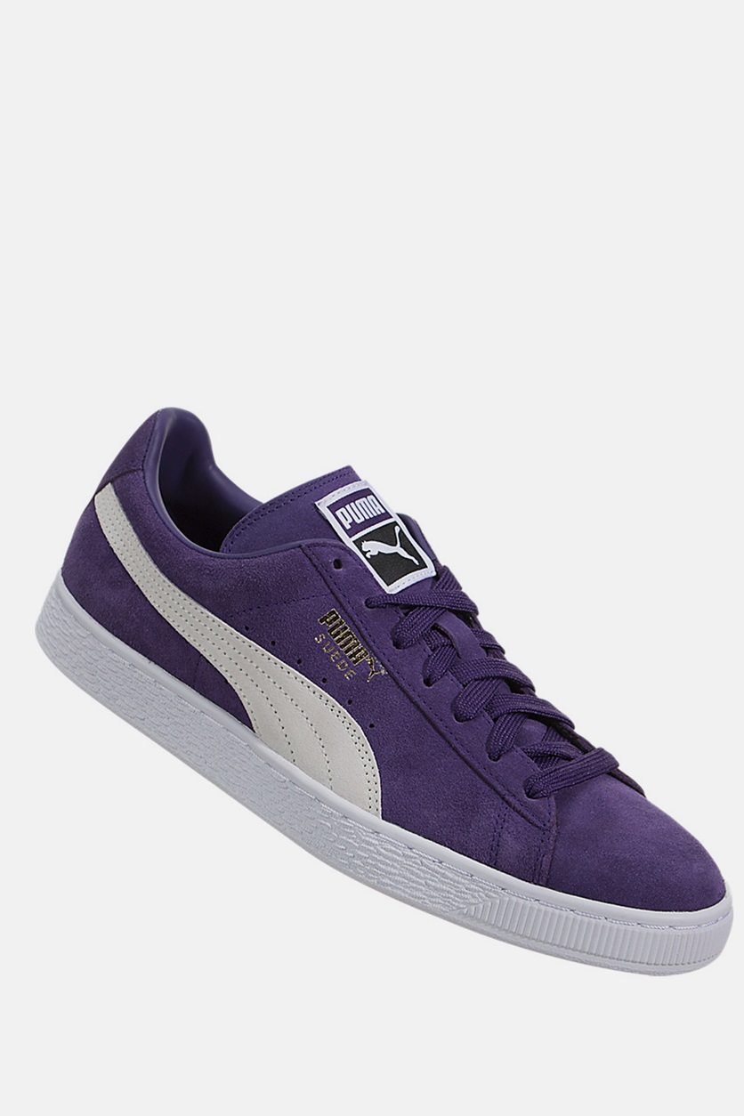 60% cheap outlet online highly praised Shop Puma Puma Suede Classic+ Sneakers, Violet Indigo/White ...