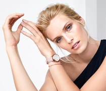 Women's Watches with Bracelet, Gold Rose