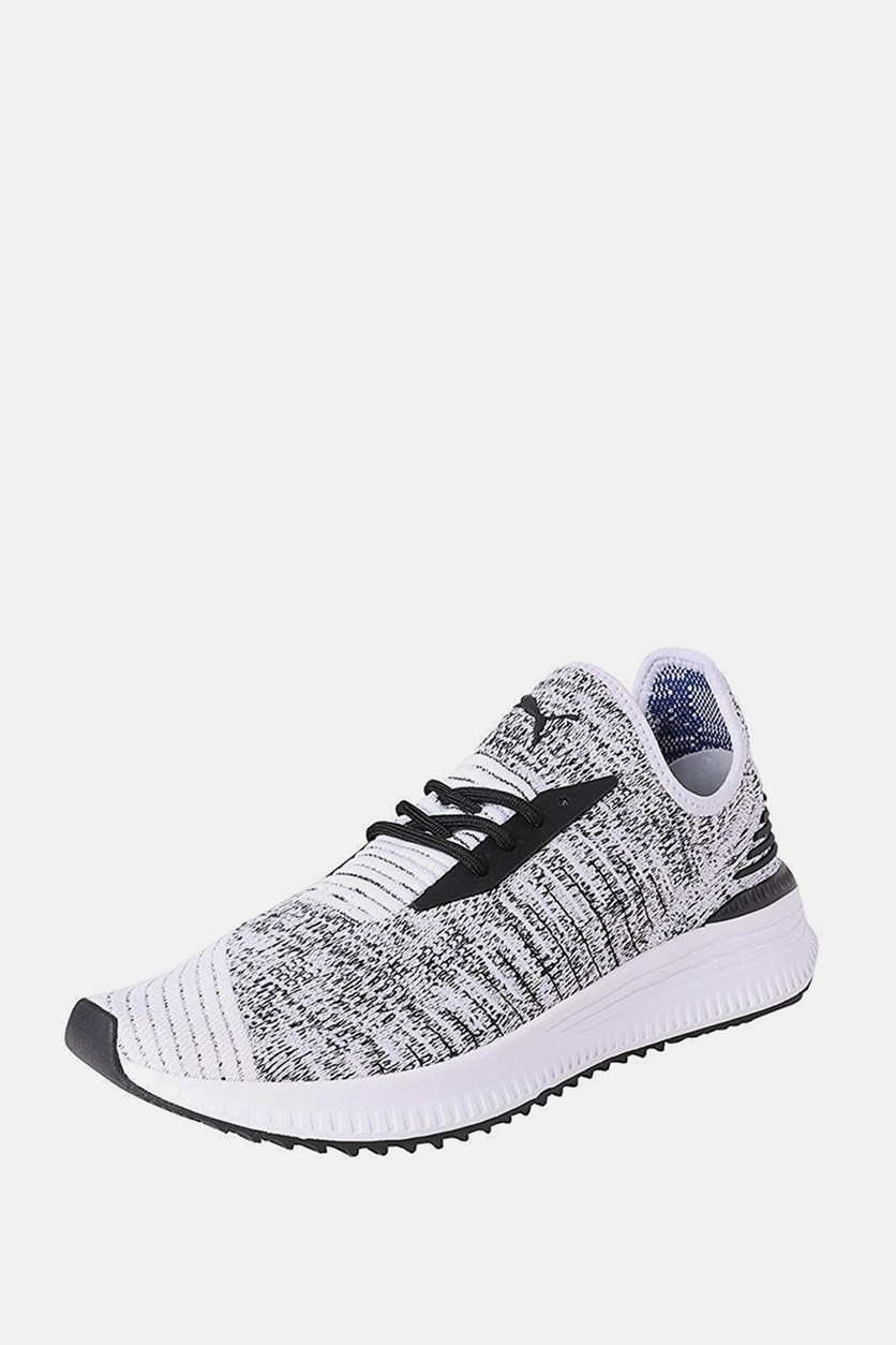 Men's Evoknit Mosaic Evolution Sneakers, Black/White