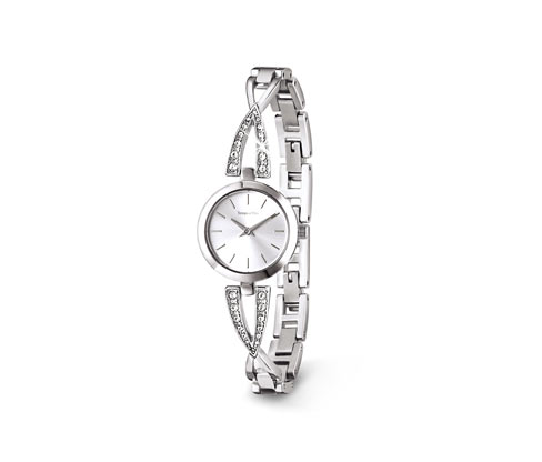 Ladies Watch With Stainless Steel Bracelet, Silver