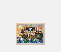 Pirate Adventure Wooden Jigsaw Puzzle 48 Pieces