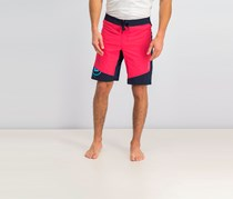 Men's Reebok Crossfit One Series Cordura Board Shorts, Pink/Navy