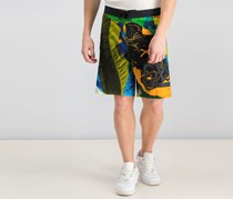 Reebok Mens Super Nasty Hero V2 Short, Green/Black