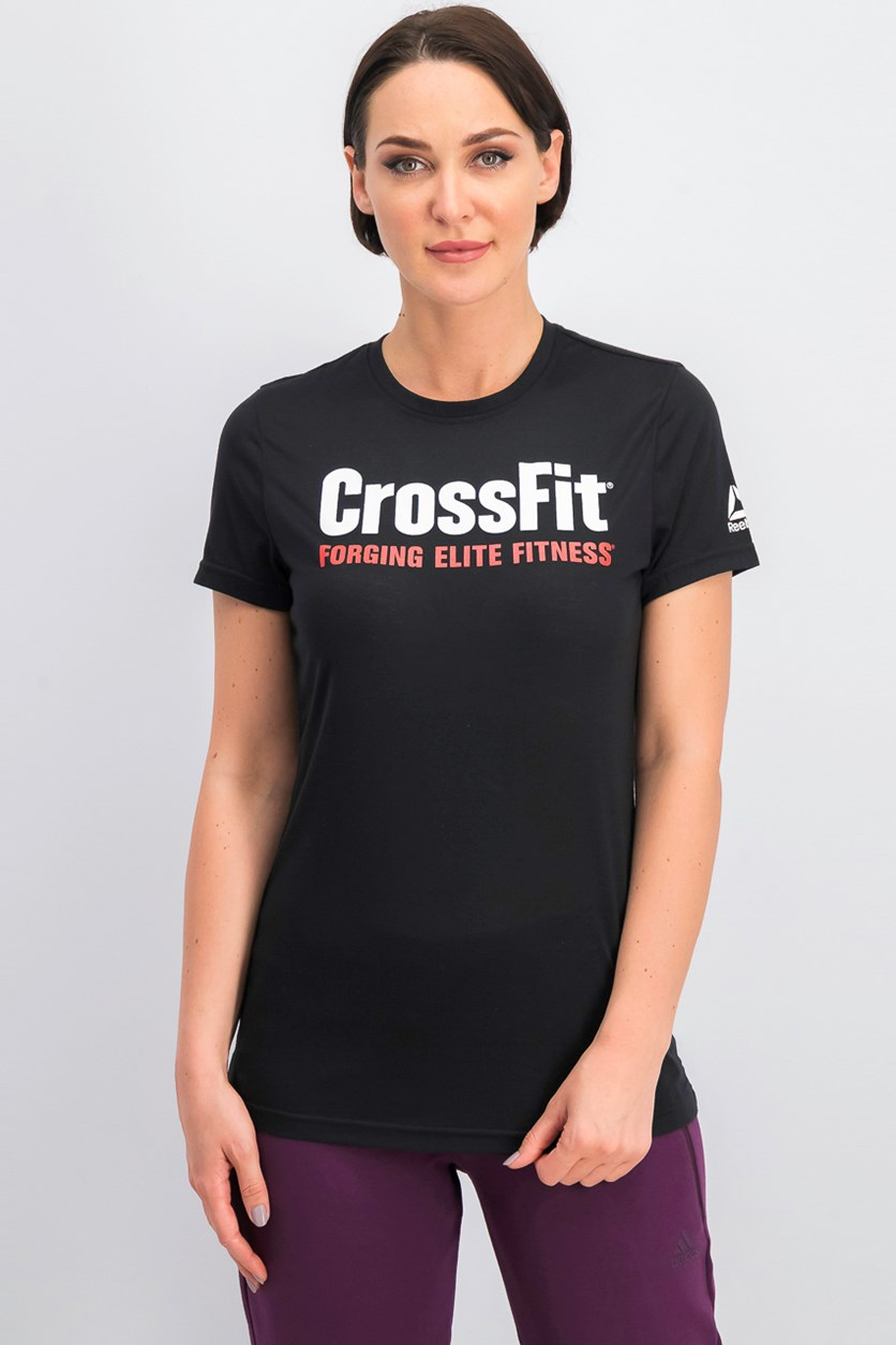 Cross Fit Tee, Black