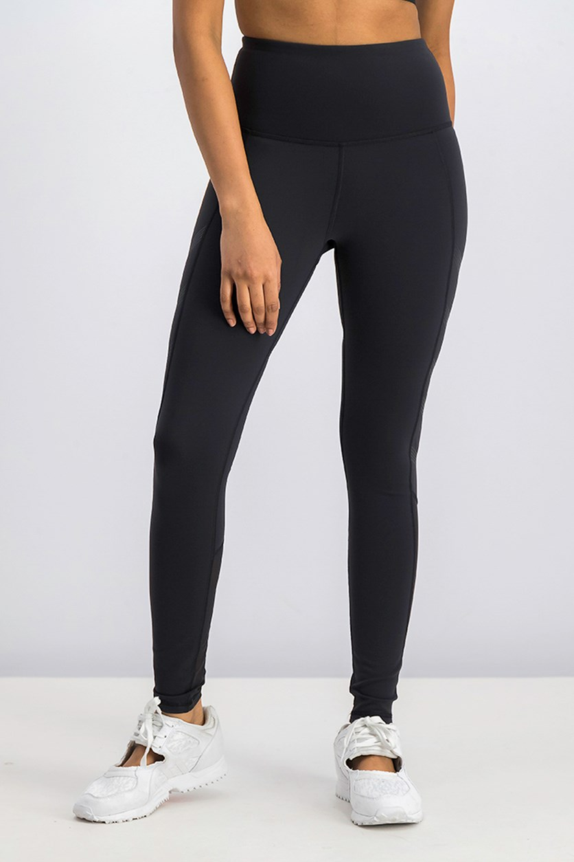 Women's High Rise Leggings, Black