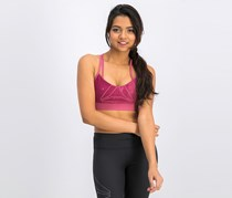 Reebok Women's Hero Strappy Place Pad Bra, Twiber