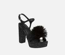 Michael Kors Fara Platform Sandals, Black