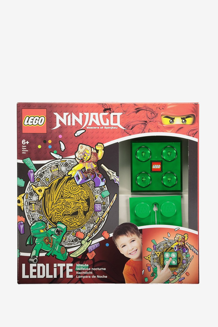 Ninjago Lloyd Wall Light, Green/Red