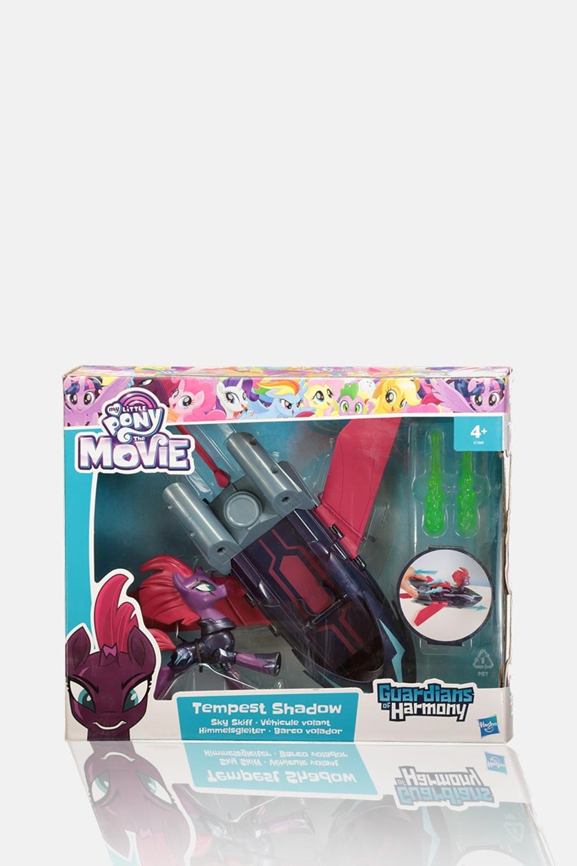 Guardians of Harmony Tempest Shadow Sky Skiff Playset, Purple