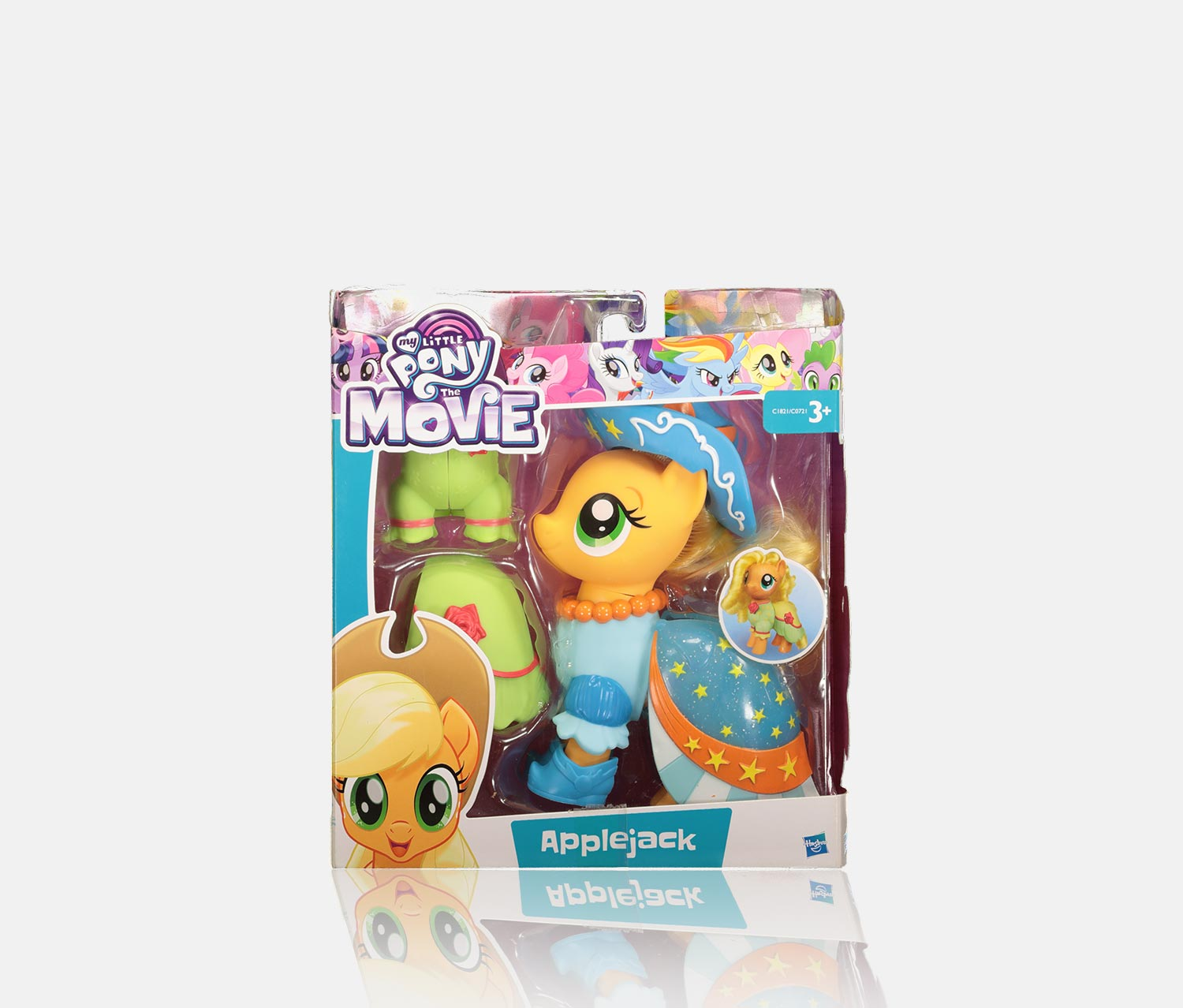 Shining Pony Game Set Applejack, Blue/Green Combo