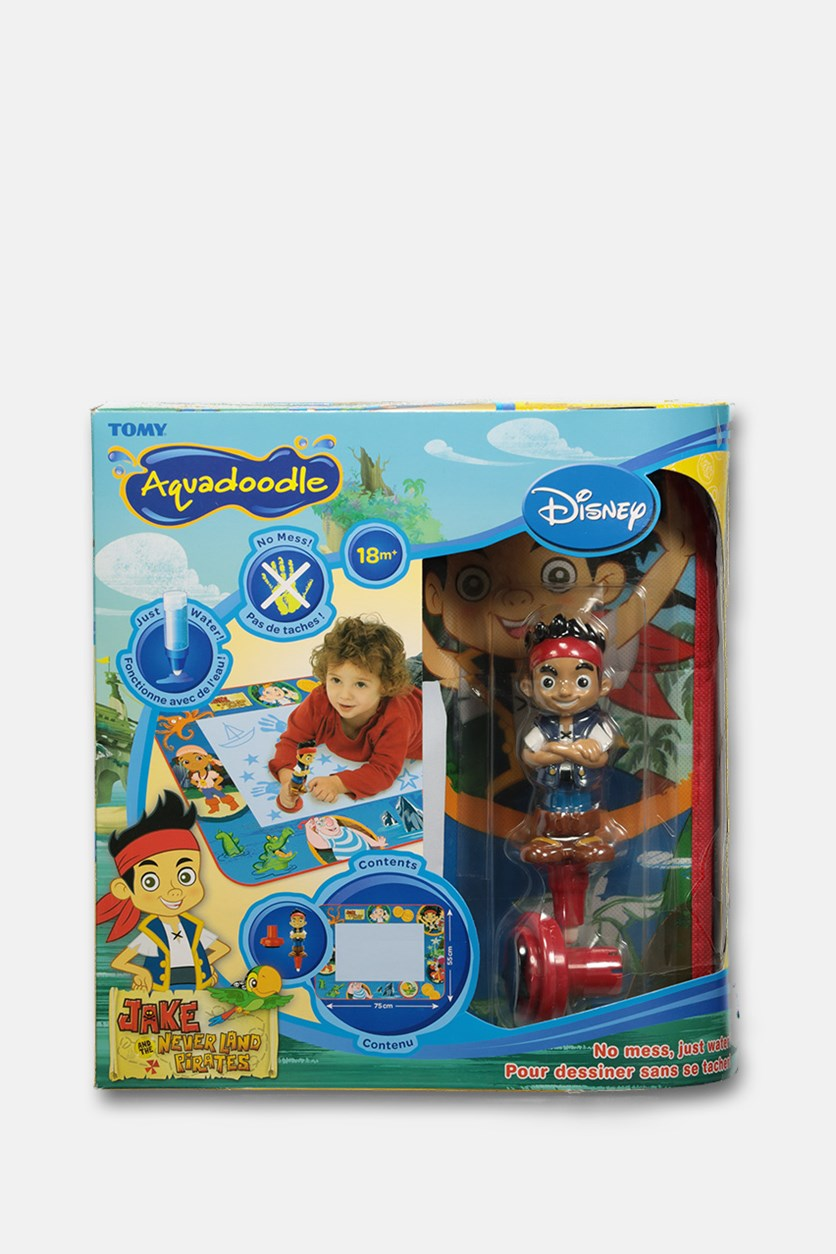 Disney Classic Drawing Toy Jake and The Never Land Pirates Aquadoodle, Blue