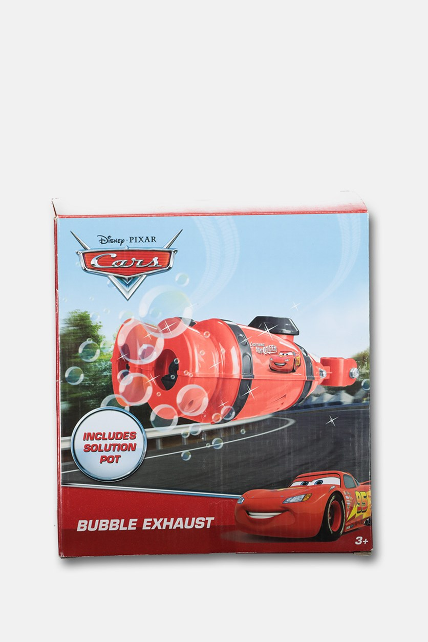 Pixar Cars Bubble Exhaust, Red