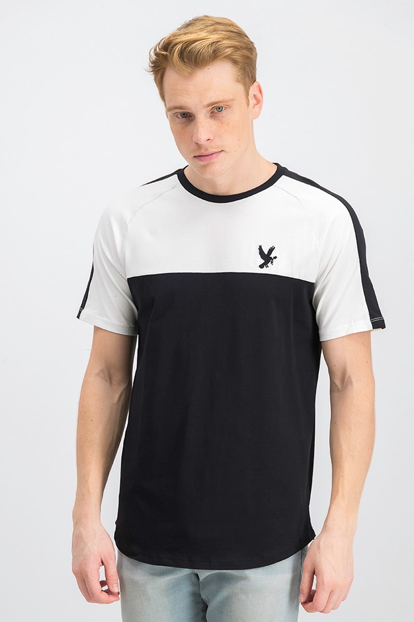 Men's Santiago Tee, White/Black