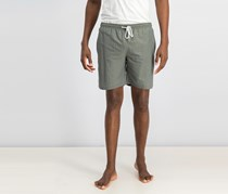 Tahari  Sport Men's Solid Swim Shorts, Green