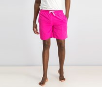 Tahari  Sport Men's Solid Swim Shorts, Pink