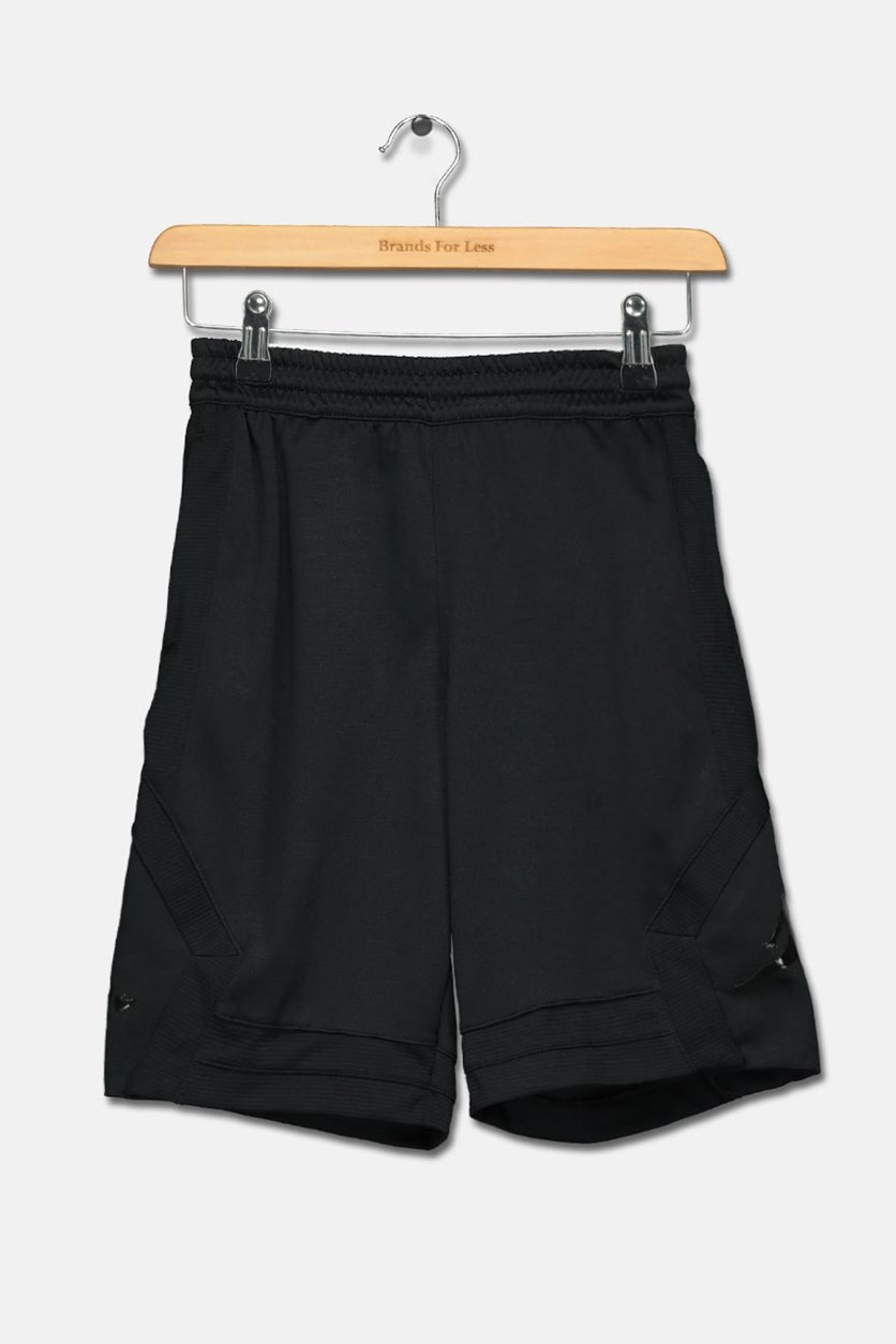 Big Boys Athletic Shorts, Black